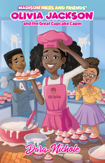 Olivia Jackson and the Great Cupcake Caper book cover