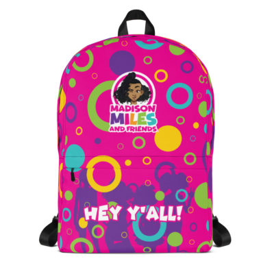 Hey Y'all Backpack - Pink 1