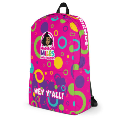 Hey Y'all Backpack - Pink 3