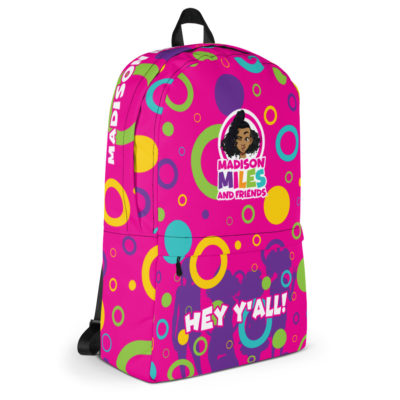 Hey Y'all Backpack - Pink 6