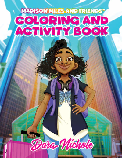 Coloring and Activity Book Cover