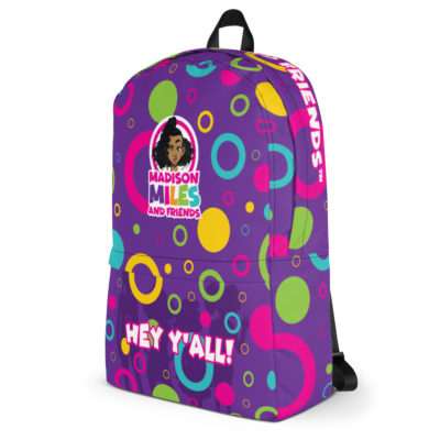 Hey Y'all Backpack - Purple 3