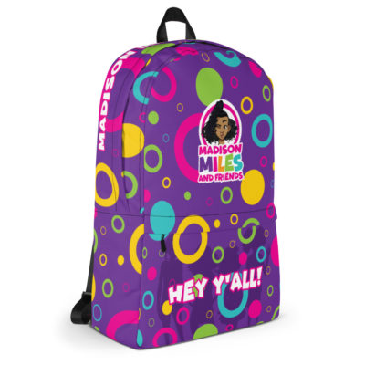 Hey Y'all Backpack - Purple 6