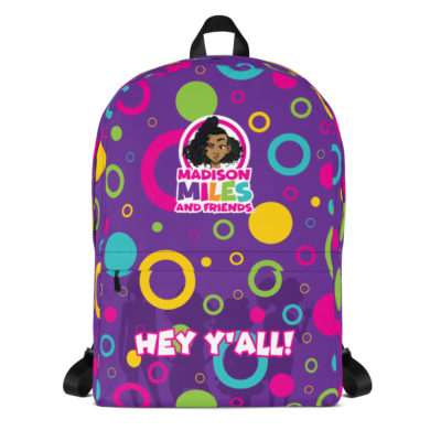 Hey Y'all Backpack - Purple 1