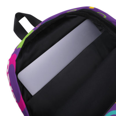 Hey Y'all Backpack - Purple 4